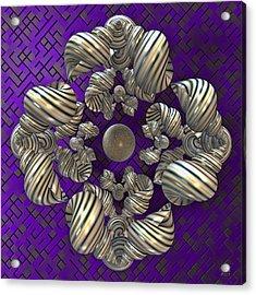 Convergence 3 Acrylic Print by Manny Lorenzo
