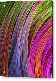 Convergence Acrylic Print by RochVanh