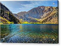Convict Lake Fall Color Acrylic Print