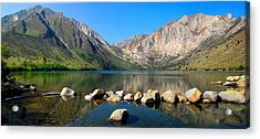 Convict Lake Panorama Acrylic Print