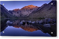 Convict Lake Acrylic Print by Sean Foster