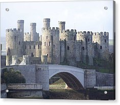 Acrylic Print featuring the photograph Conwy Castle by Christopher Rowlands
