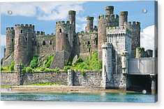 Conwy Castle Wales Acrylic Print by Jane McIlroy