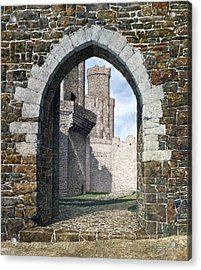Conwy Gate Acrylic Print by Tom Wooldridge