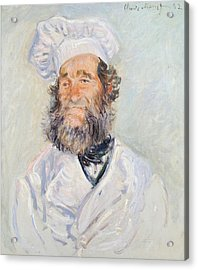 Cook Acrylic Print by Claude Monet