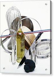 Cooking Equipment Acrylic Print by John Stewart