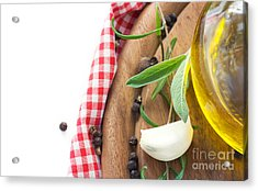 Cooking Ingredients Acrylic Print