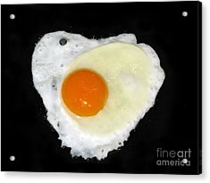Cooking With Love Series. Breakfast For The Loved One Acrylic Print by Ausra Huntington nee Paulauskaite