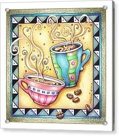 Cool Beans Acrylic Print by Pop Art Diva