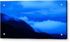Cool Blue Acrylic Print