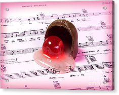 Cool Cherry Cream Acrylic Print