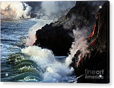 Cool Down Acrylic Print by Karl Voss
