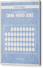 Cool Hand Luke Acrylic Print by Ayse Deniz