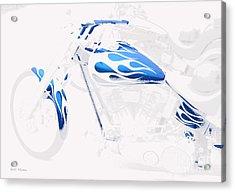 Cool Motorcycle Acrylic Print