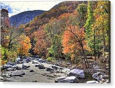 Cool Mountain Stream Acrylic Print