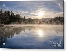 Cool November Morning Acrylic Print by Jola Martysz