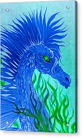 Cool Sea Horse Acrylic Print