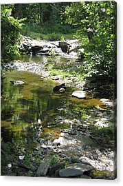 Acrylic Print featuring the photograph Cool Waters by Ellen Levinson
