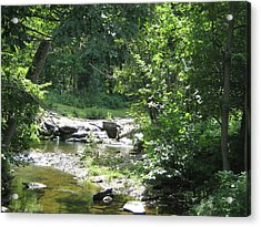 Acrylic Print featuring the photograph Cool Waters II by Ellen Levinson