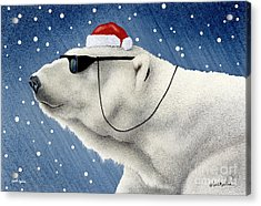 Cool Yule... Acrylic Print by Will Bullas