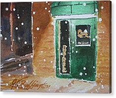 Cooley's Back Door Acrylic Print