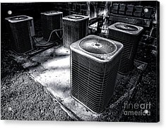 Cooling Power Acrylic Print by Olivier Le Queinec