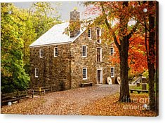 Cooper Gristmill Acrylic Print
