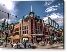 Colorado Rockies Acrylic Print