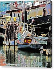 Coos Bay Harbor Acrylic Print