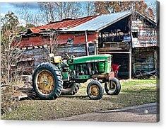 Coosaw - John Deere Tractor Acrylic Print