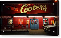 Cooters At Christmas Acrylic Print by Dan Sproul
