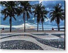 Copacabana Acrylic Print by Marcelo Freire Photography