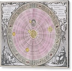 Copernican Planisphere, 1708 Acrylic Print by Science Photo Library