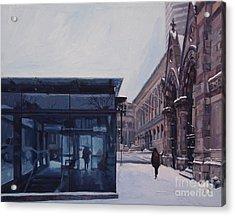 Copley Winter Acrylic Print