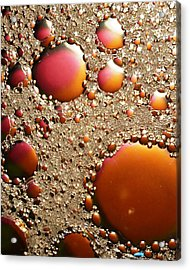 Copper And Tin Acrylic Print by Chris Fraser