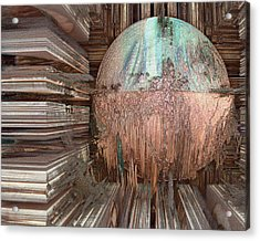 Copper Ball Acrylic Print