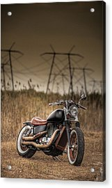 Copper Chopper Acrylic Print