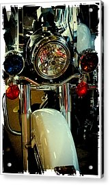 Copper Chopper Acrylic Print by David Patterson