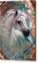 Copper Grace - Horse Acrylic Print