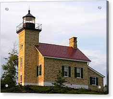 Copper Harbor Michigan Lighthouse Acrylic Print by Robert Lozen