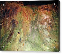 Copper Mine Deposit Acrylic Print by Cordelia Molloy/science Photo Library