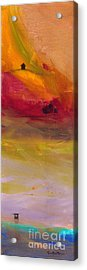 Copper Mist Acrylic Print by Robin Maria Pedrero