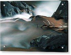 Copper Stream 2 Acrylic Print
