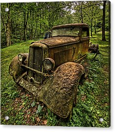 Acrylic Print featuring the photograph Copper Truck by Wendell Thompson