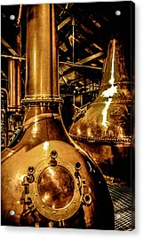 Copper Workplace Acrylic Print