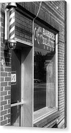Copperhill Barber Shop Acrylic Print