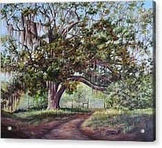 Cop's Tree Acrylic Print