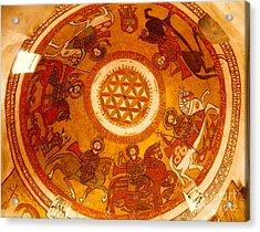 Coptic Martial Saints Acrylic Print