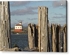 Coquille River Lighthouse, Bandon Acrylic Print
