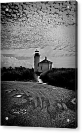 Coquille River Lighthouse Acrylic Print by Melanie Lankford Photography